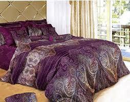 5 Piece Duvet Set Swanson Beddings Royal Paisley 5 Piece Luxury 100 Cotton Bedding