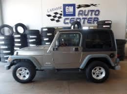 2004 jeep wrangler sport used jeep wrangler for sale in cheyenne wy 20 used wrangler