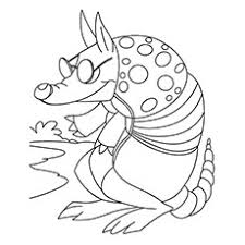 i tolerate you coloring page 10 funny armadillo coloring pages for your little ones
