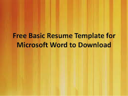 Ms Word Resume Templates Free Analystical Research Paper On Homeschooling Thesis On Technology