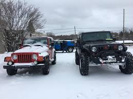 jeep snow meme i u0027ve had my tj since i was 17 kept it 100 stock can u0027t say the