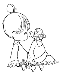 precious moments coloring picture precious moments images