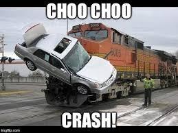 Car Wreck Meme - car crash imgflip