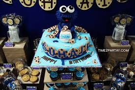 cookie monster baby shower cookie monster themed 1st birthday time2partay com