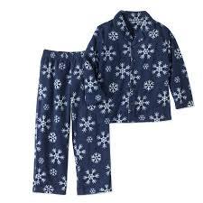 family pajamas baby toddlers unisex snowflake 2