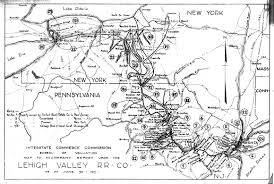 New York Central Railroad Map icc valuation section index maps