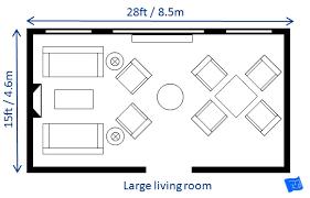 Average Living Room Size | large living room size jpg