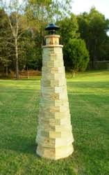 lawn lighthouse plans how to build a wooden lighthouse