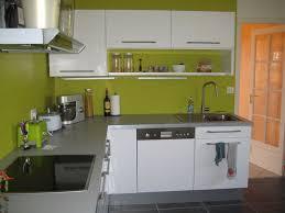 cuisine verte et blanche cuisine verte et blanche projet particulier rnovation