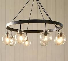 Candle Chandelier Pottery Barn Candle Chandelier Pottery Barn Blown Glass Chandelier Chandelier