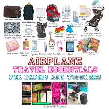 travel essentials images Flying with a baby travel essentials and flying with a toddler jpg