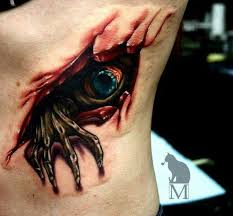 this collection of messed up 3d tattoos is sick boredombash
