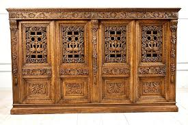 carved cabinet door panels carved cabinet door french antique four door carved cabinet with