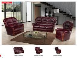 sara classic taditional burgundy full leather sofa set esf u2013 voelkel