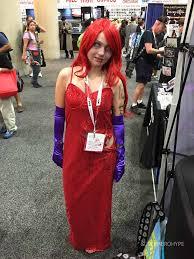 the costumes of comic con