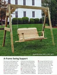 porch swing plans u2022 woodarchivist