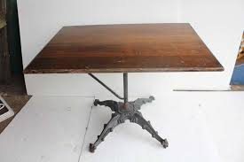 Iron Drafting Table Antique Cast Iron Base Drafting Table For Sale At 1stdibs