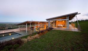 modern u shaped home in front of the sea u2014 l shaped and ceiling