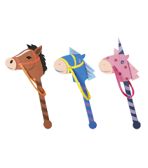 busy kids learning foam pony on a stick joann