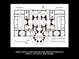 Baths Of Caracalla Floor Plan Novios Plautios The Ficoroni Cista Bce Ppt Video Online Download