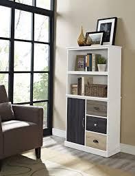 Bookshelf Drawers Bookshelf With Drawers Target Home Design Ideas