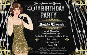 Gatsby Invitations 31 Birthday Invitation Templates U2013 Free Sample Example
