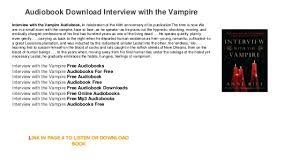 audiobook with the vire