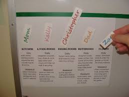 magnetic family chore chart for a multi child house hold 5 magnetic family chore chart for a multi child house hold 5 steps with pictures