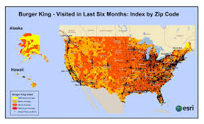 Demographic Map By Zip Code Fast Food U2013 Who Eats Where U2013 Pam Allison