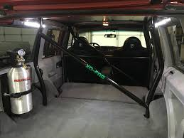 homemade jeep bumper xj hybrid diy cage kit
