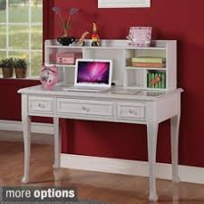 Black Writing Desk With Hutch Desks Study Tables For Less Overstock
