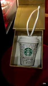 starbucks swarovski ornament all that glitters