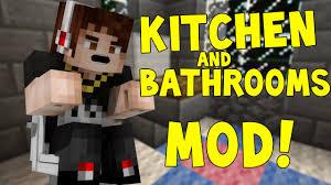Minecraft Kitchen Furniture Minecraft Mods Bathroom Mod Bathroom U0026 Kitchen Furniture Mod