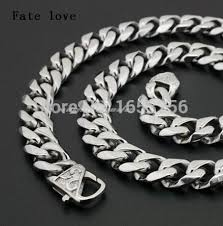 2015 men s jewelry 8mm 60cm new arrival fate 2015 new arrival cool clasp 14mm 24 fashion polished