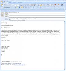 Cover Letter In Email Format by Resume How To Email Cover Letter And Resume Samples Of Resumes
