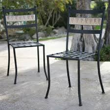 Wrought Iron Commercial Bistro Chair Wonderful Wrought Iron Bistro Chairs Wrought Iron Chairs Pair Of