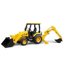 bruder excavator bruder toys jcb midi cx backhoe loader 02427 19 99