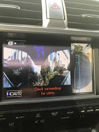 lexus rx 350 intuitive parking assist lexus parking assist monitor question clublexus lexus forum
