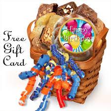 happy birthday gift baskets birthday muffin gift basket