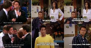 15 one liners that prove u0027friends u0027 is the funniest sitcom ever