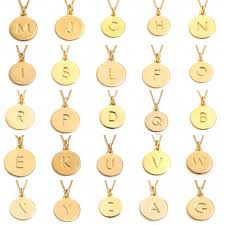 Monogrammed Pendant Necklace Necklace Jewelry Display Picture More Detailed Picture About