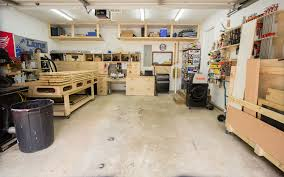 How Many Square Feet Is A 3 Car Garage by 2 Car Garage Woodshop U2013 Shop Tour 2015 Jays Custom Creations