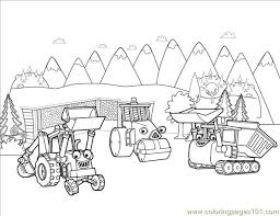 coop roley muck coloring free bob builder coloring