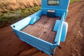 wooden truck bed on bagz darren wilson u0027s 1948 dodge fargo pickup u2013 slam u0027d mag