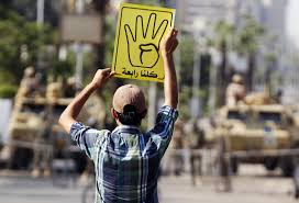 what this hand gesture means for egypt u0027s future the atlantic