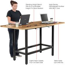 Standing Height Table by Tables Restaurant Bar Cafe Tables Bar Height Computer