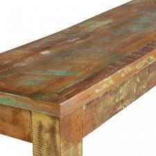 Esszimmerbank Holz Finebuy Esszimmerbank Delhi 120 X 45 X 38 Cm Mango Shabby Chic