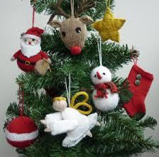 knit ornaments rainforest islands ferry