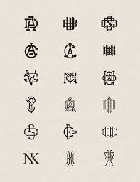 Create Monogram Initials 272 Best Design Logo Images On Pinterest Graphics Logo