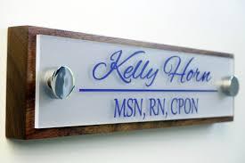 plaque porte bureau porte nom plaque personnalisé bureau accessoires de bureau et